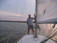 Lake Texhoma Sail with Joe Psenica & David Vines
